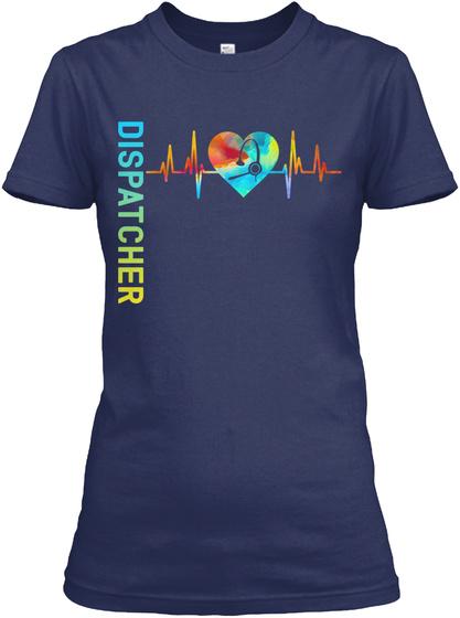 Dispatcher Navy T-Shirt Front