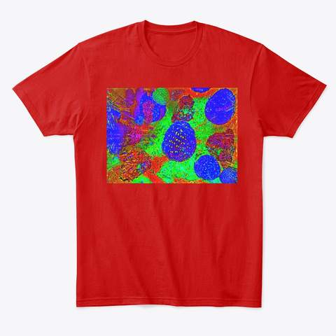 Terpene Digested Cannabis Friendly Classic Red T-Shirt Front