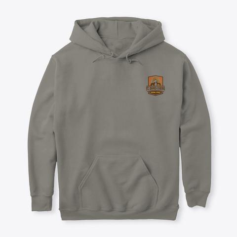 Full Color St Dane's Logo Charcoal T-Shirt Front