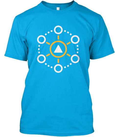 Be 'a Part Of' Turquoise T-Shirt Front
