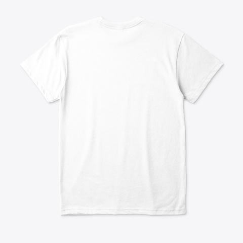Thank You Trump! White T-Shirt Back