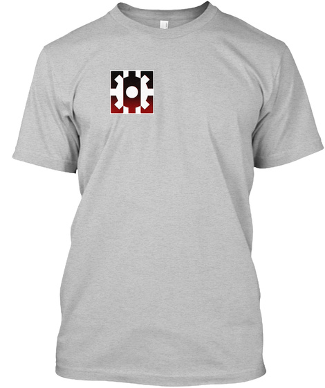 Masters Of The Forge Tee Light Heather Grey  T-Shirt Front