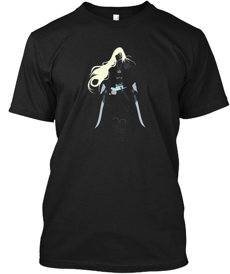 Celaena Sardothien Throne Of Glass Black T-Shirt Front