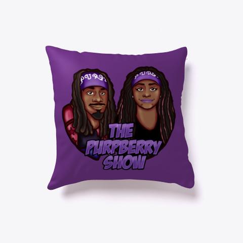 Purpz Merch Purple T-Shirt Front