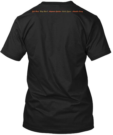 Tha The Peas Black T-Shirt Back