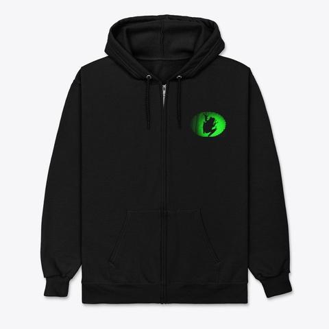 Frog Shade Black T-Shirt Front