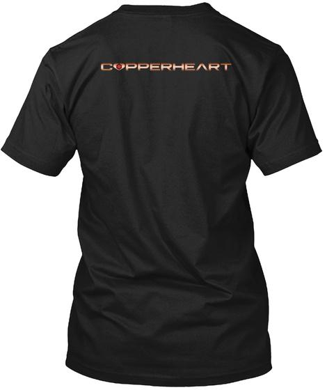 Copperheart Black T-Shirt Back