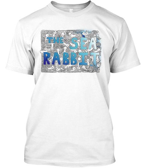 The Sea Rabbit White T-Shirt Front