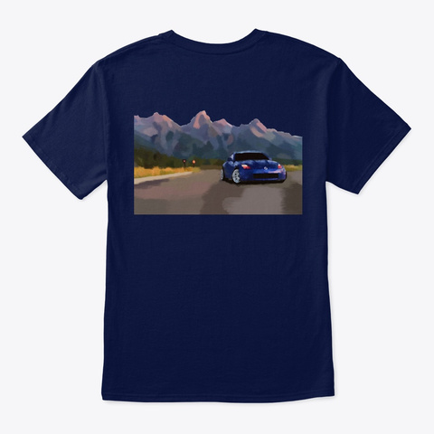 Blue Zed Navy T-Shirt Back