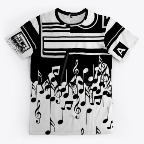 Retro Cool Audio Cassettes Standard T-Shirt Front