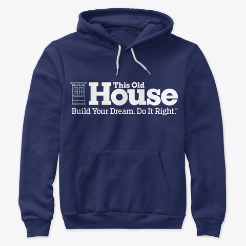 This Old House Logo Series Navy T-Shirt Front