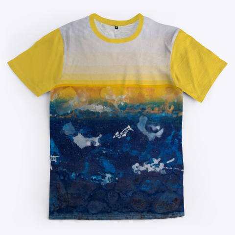 Kg 143 Yellow T-Shirt Front