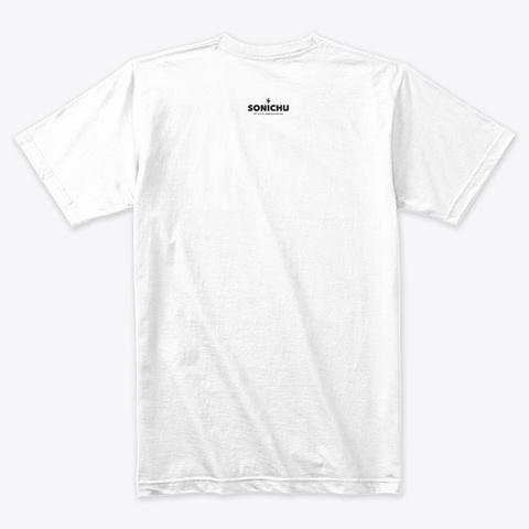 Christian &Amp; The Hedgehog Boys Ii White T-Shirt Back