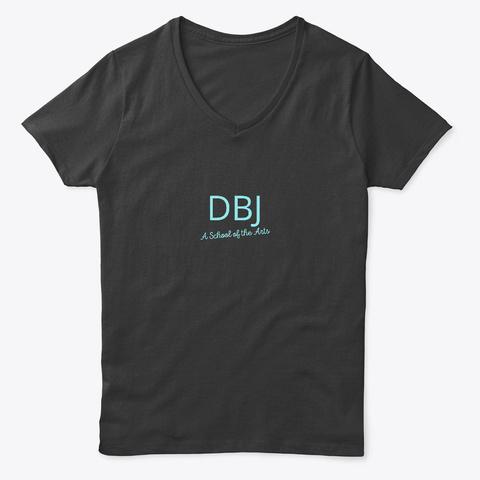 Dbj A School Of The Arts ...Blue Black T-Shirt Front