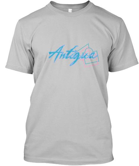 Antigua Sport Grey T-Shirt Front