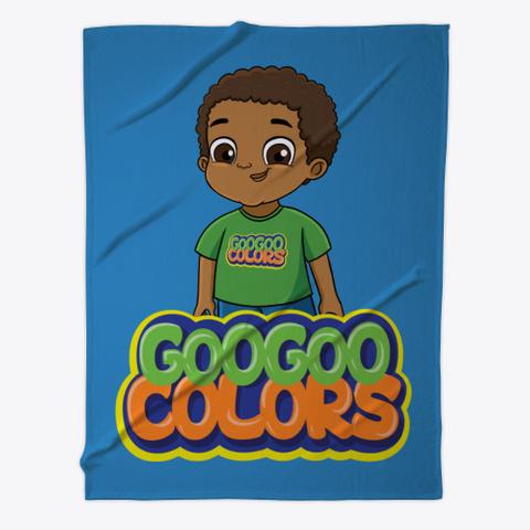 Goo Goo Gaga Fleece Cover Denim Blue T-Shirt Front