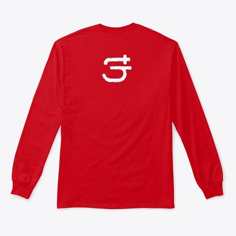 T Hi Nk Ci G Apparel Red T-Shirt Back