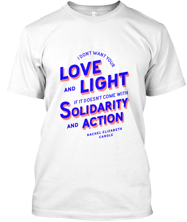 [EU] Solidarity and Action t-shirts Unisex Tshirt
