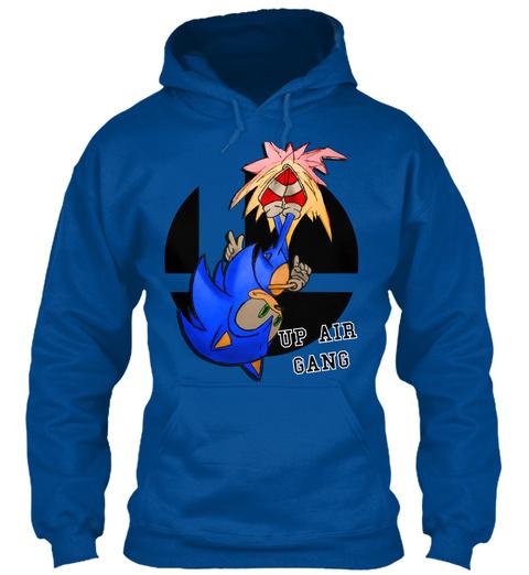 Up Air Gang Royal T-Shirt Front