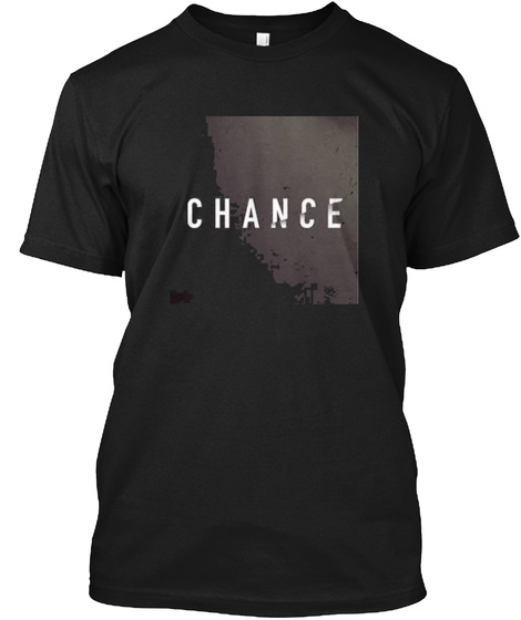 Chance Yourself Black T-Shirt Front