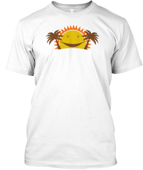 Summer Holidays...T Shirts White T-Shirt Front