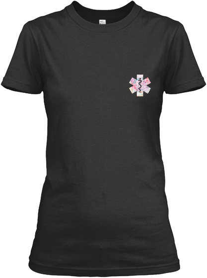 Paramedic Shirt Christmas Special Black Women's T-Shirt Front