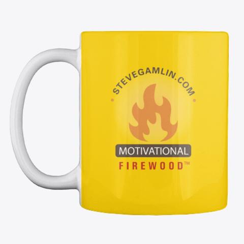 Vision Board Mug Lemon Yellow T-Shirt Front