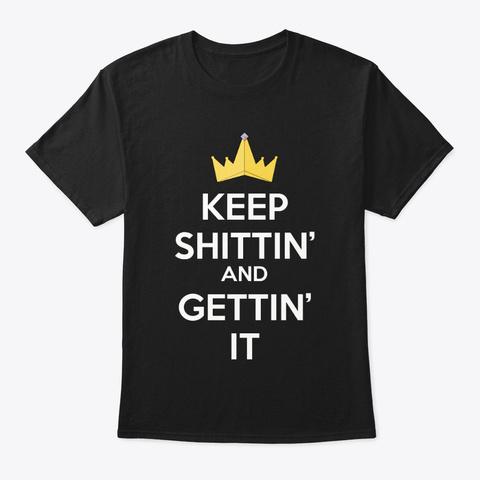 S & G T Shirt  Black T-Shirt Front