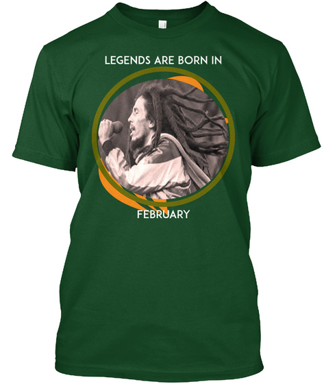 The Legend Of Marrley Deep Forest T-Shirt Front