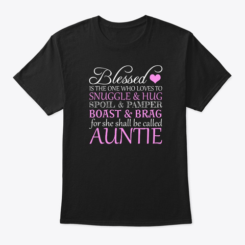Blessed Is The One Who Loves To Snuggle Black áo T-Shirt Front