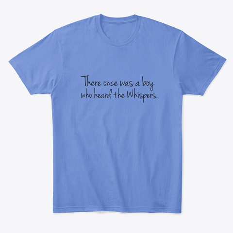 There Once Was A Boy   Apparel Heathered Royal  T-Shirt Front