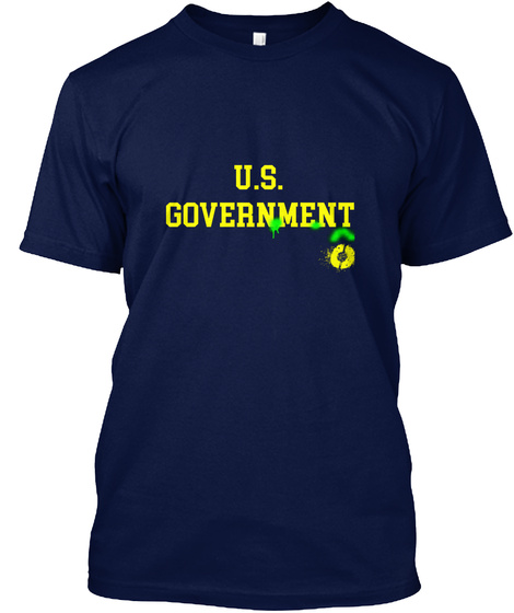 My Rights! Right Now! Navy T-Shirt Front