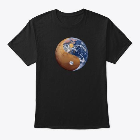 Yin Yang Planets Unisex Tshirt