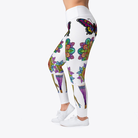 Lovely Artwork Leggings Standard T-Shirt Left