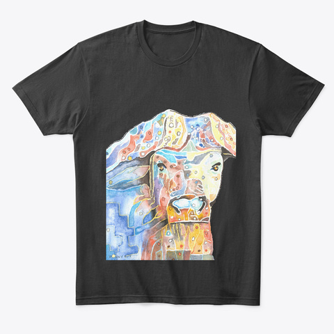 Bonny Hut Originals   Buffalo Black T-Shirt Front