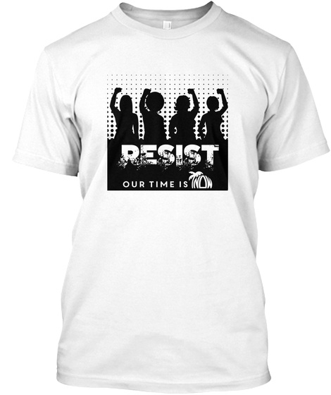 Fl Now Resist 2017 White T-Shirt Front