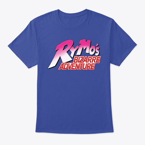 Ry Mo's Bizarre Adventure T Shirt Deep Royal T-Shirt Front