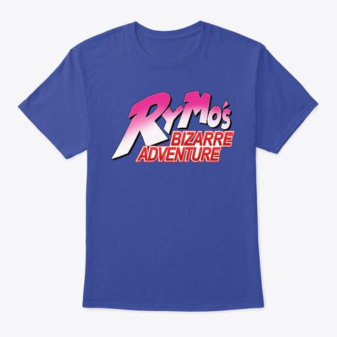 Ry Mo's Bizarre Adventure T Shirt Deep Royal T-Shirt Front