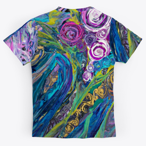 Expressionist Bouquet Standard T-Shirt Back
