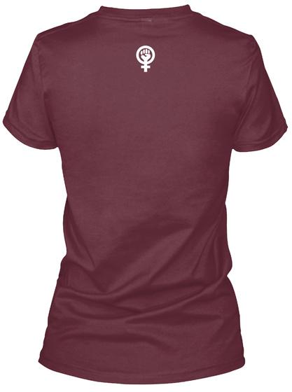 U.N.I.T.Y. Maroon T-Shirt Back