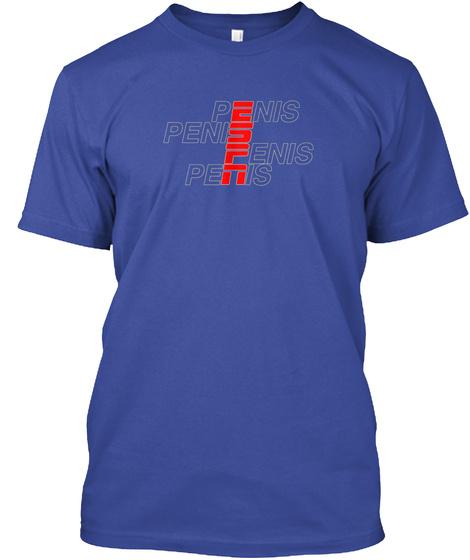 Espn Penis Shirt Lol Deep Royal T-Shirt Front