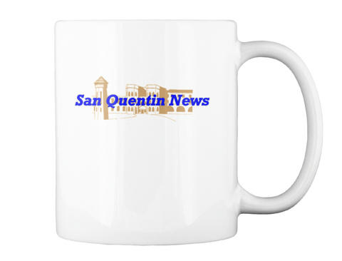 San Quentin News White T-Shirt Back