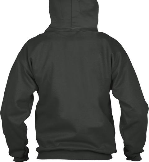 Posse Poncho Deep Charcoal T-Shirt Back