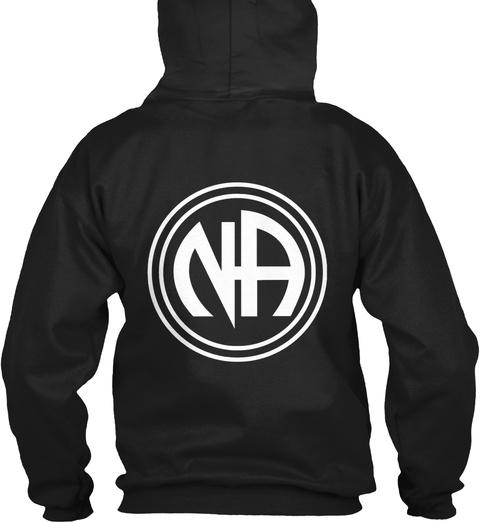Northwest Coast   Na Black Sweatshirt Back