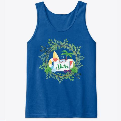 Palmy, Slońce I Zabawa!  Royal T-Shirt Front