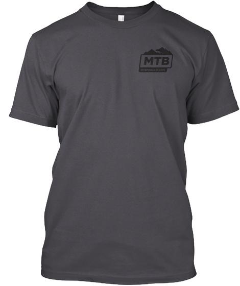 Mtb Asphalt T-Shirt Front