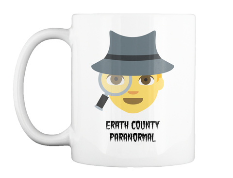 Erath Country Paranormal White T-Shirt Front