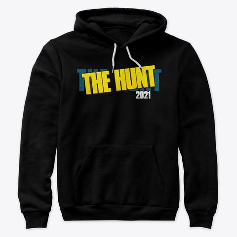 The Hunt 2021 Black T-Shirt Front