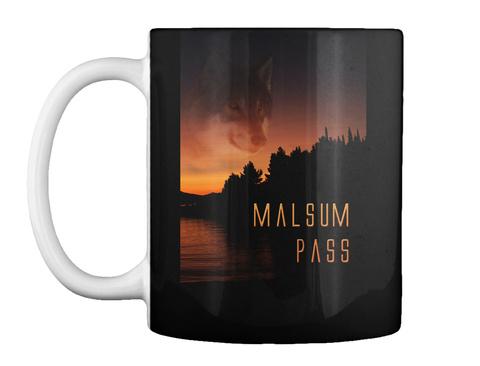 Malsum Pass Mug Black Mug Front