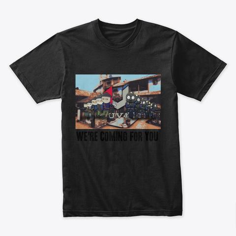 Uv1   Csgo   Merch Black T-Shirt Front